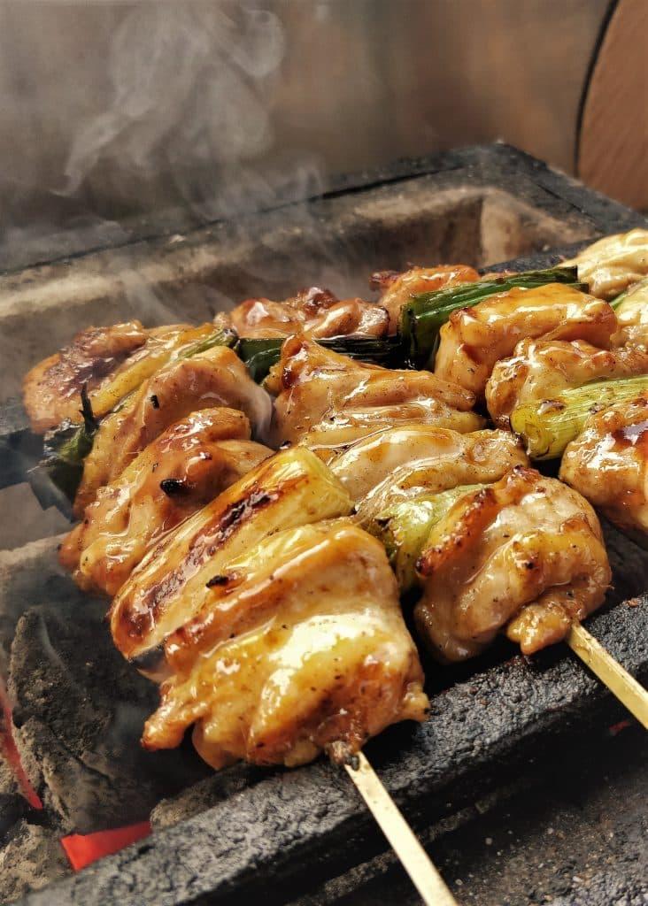Japanese skewers